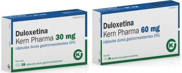 Uquifa and Kern Pharma partnership the launch Duloxetine